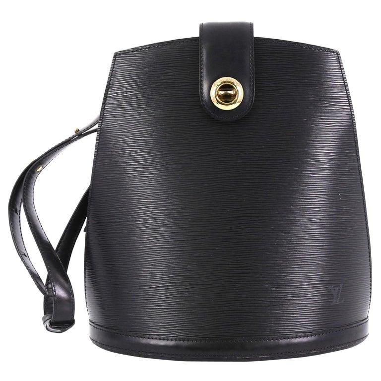 90f3bffba098 Louis Vuitton Cluny Shoulder Bag Epi Leather For Sale at 1stdibs