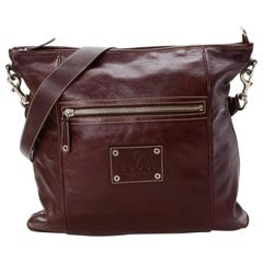 Gucci Messenger 867280 Brown Leather Cross Body Bag
