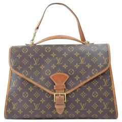 Louis Vuitton Beverly Monogram 2way 867230 Brown Coated Canvas Satchel