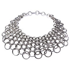 Orleans Small Chain Mail Necklace