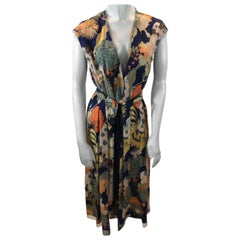 Dries Van Noten Floral Print Dress