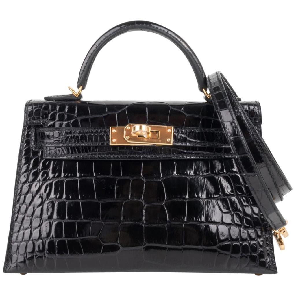 85bcef7c4f77 Hermes Alligator Bags - 85 For Sale on 1stdibs