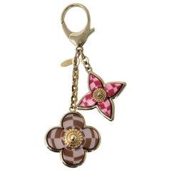 Louis Vuitton Mosaique Fuschia Bag Charm Key Chain