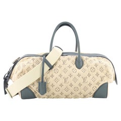 Louis Vuitton Round Speedy Bag Monogram Denim