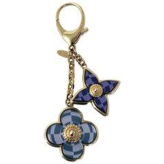 Louis Vuitton Mosaique Blue Bag Charm Key Chain