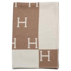 Hermès Avalon throw blanket Camel