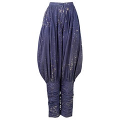 Vintage Issey Miyake Indigo Jodhpur Pants