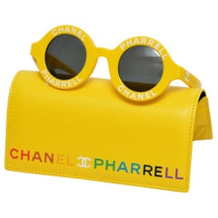Chanel x Pharrell Capsule Collection Yellow Jaune  Sunglasses NEW