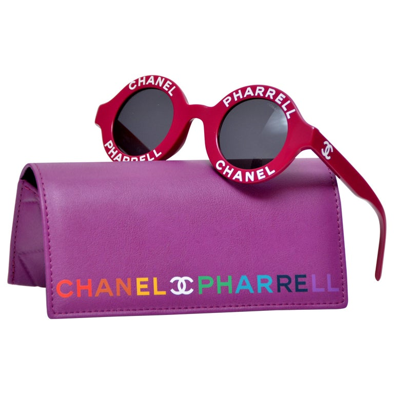 c7b6ccac22 Chanel x Pharrell Capsule Collection Violet Sunglasses NEW For Sale ...