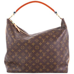 Louis Vuitton Sully Handbag Monogram Canvas PM