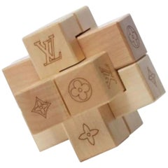 Louis Vuitton Natural (Ultra Rare) Maple Sycamore Le Pateki Wood Puzzle 866607
