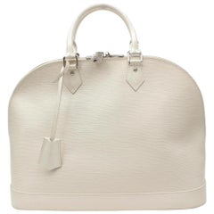 White Top Handle Bags