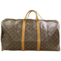 Louis Vuitton Keepall Bandouliere 55 866482 Coated Canvas Weekend/Travel Bag