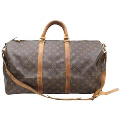 Louis Vuitton Keepall Bandouliere 50 866328 Coated Canvas Weekend/Travel Bag