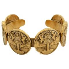 Chanel Gold Médallion Bandle 866418 Bracelet