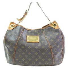 Louis Vuitton Galliera Monogram Pm 866276 Brown Coated Canvas Tote