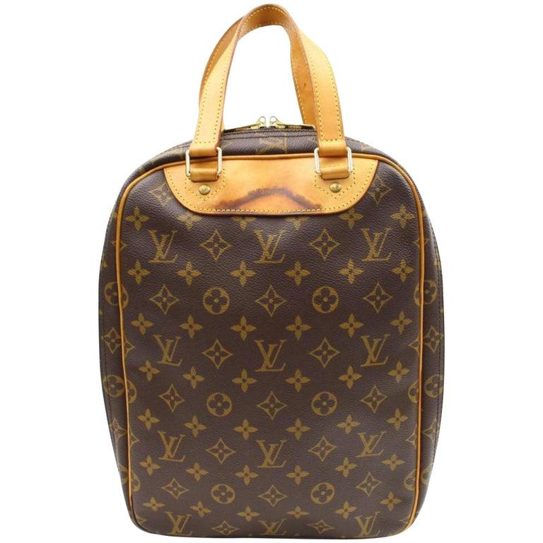 8971e5cd Louis Vuitton Excursion Monogram Sac 867035 Brown Coated Canvas Shoulder  Bag For Sale