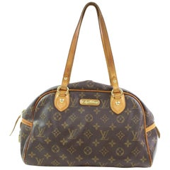 Louis Vuitton Montorgueil Monogram Pm 867030 Brown Coated Canvas Shoulder Bag