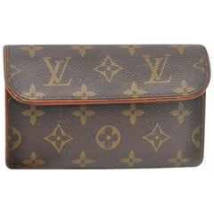 Louis Vuitton Florentine Pochette Waist Pouch Bum 866927 Brown Cross Body Bag