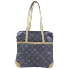 Louis Vuitton Coussin Monogram Gm 867006 Brown Coated Canvas Shoulder Bag
