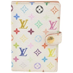 Louis Vuitton Monogram Carnet De Bal 866801 Multicolor Coated Canvas Clutch