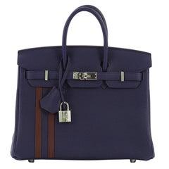 Hermes Officier Birkin Handbag Limited Edition Togo with Swift 30