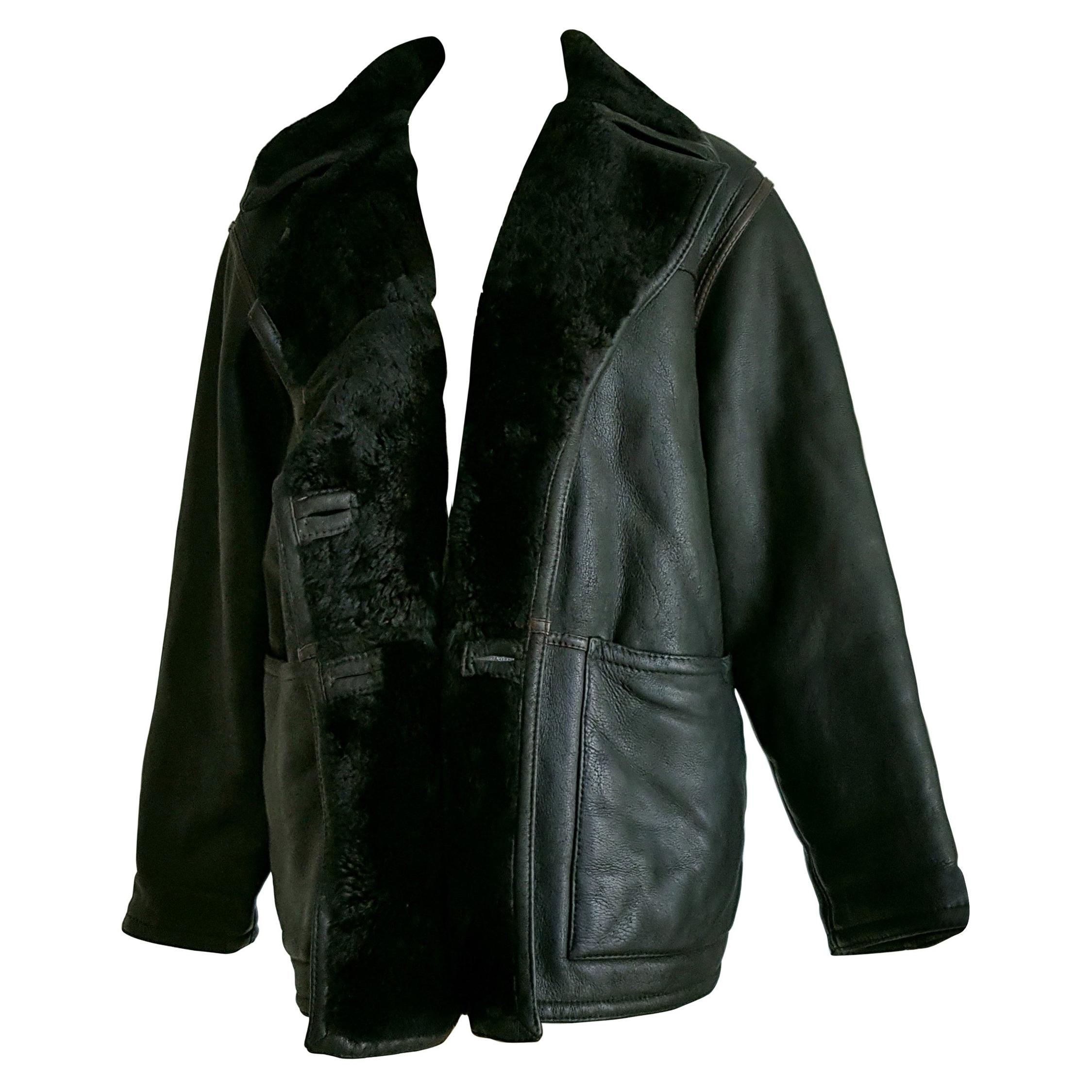 f4fd7029be1c Brown Leather Jackets - 90 For Sale on 1stdibs