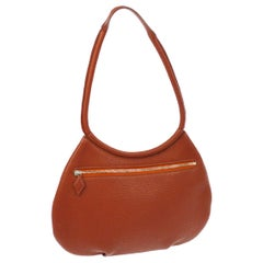 Hermes Leather Hobo Style Evening Top Handle Satchel Shoulder Bag Bag