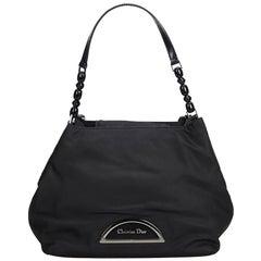 Dior Black Nylon Fabric Malice Tote Bag Italy