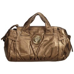 Gucci Gold  Leather Hysteria Italy w/ Dust Bag