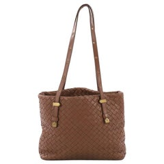 Bottega Veneta Belted Tote Intrecciato Nappa Medium