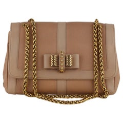 Christian Louboutin Pink Leather Sweet Charity Shoulder Bag