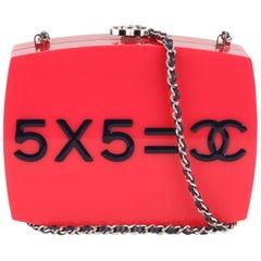 9323132d91c768 Chanel 2015 Je Ne Suis Pas En Solde Box Clutch with Chain Strap