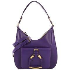 Purple Top Handle Bags