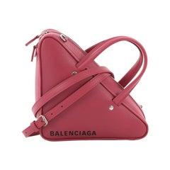 Balenciaga Triangle Duffle Bag Leather Small