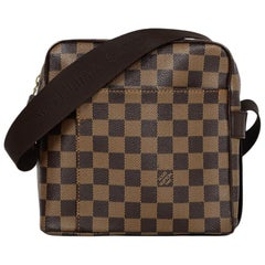 Louis Vuitton Damier Ebene Coated Canvas Olav PM Messenger Bag