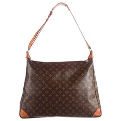 Louis Vuitton Boulogne Ballad Monogram R865843 Brown Coated Canvas Shoulder Bag