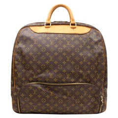 Louis Vuitton Evasion Monogram Gm 865725 Brown Coated Canvas Weekend/Travel Bag