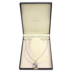 Brooks Brothers White Silver Engraved 47bba919 Necklace