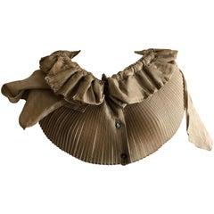 Romeo Gigli Vintage Pleated Ruffled Collar