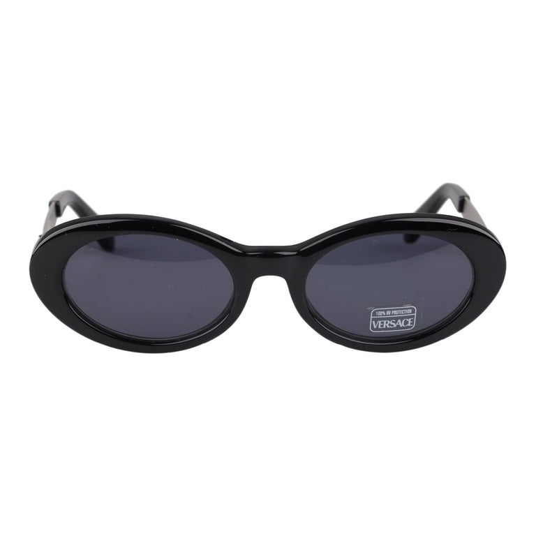 233cb3310ec5a Gianni Versace Vintage Black Sunglasses Mod. 451G Col 852 New Old Stock For  Sale