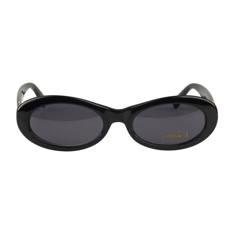1d473653e1a Gianni Versace Vintage Black Sunglasses Mod 307 Col 451 New Old Stock For  Sale