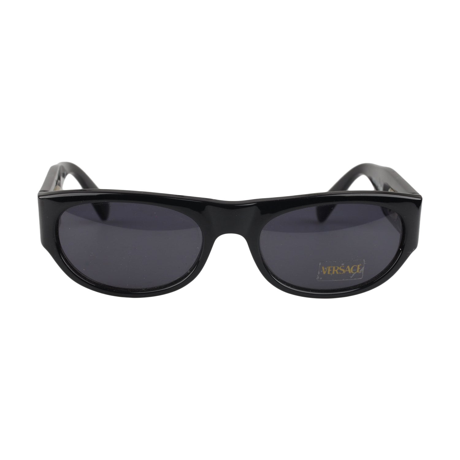 7e974c32bf8 Gianni Versace Vintage Black Sunglasses Mod 474A Col 852 New Old Stock For  Sale at 1stdibs