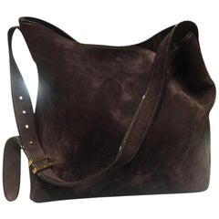 b2398296c704 TOMFORD Tote brown chamois cross body bag