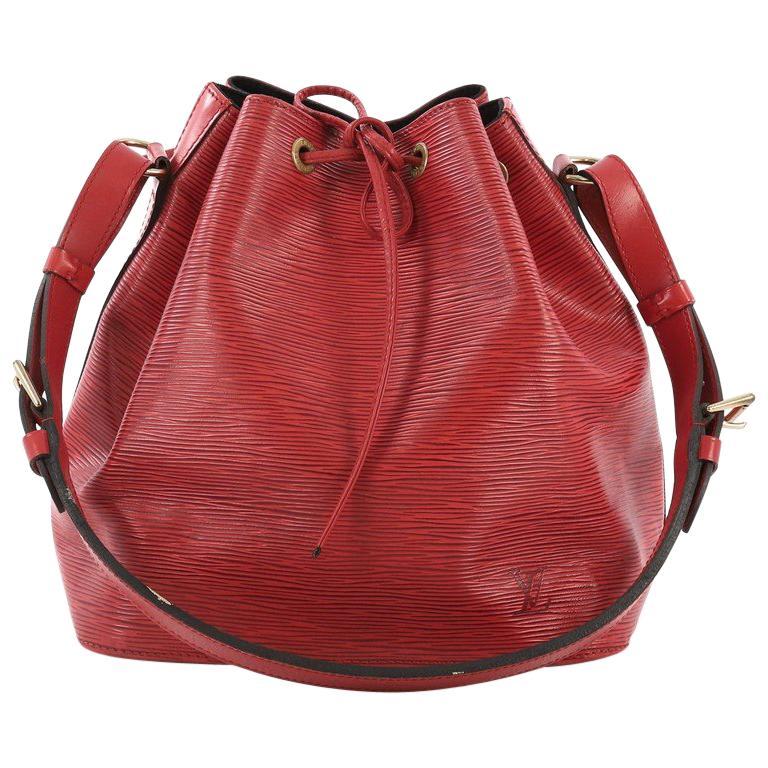 610aadda6aa5 Louis Vuitton Petit Noe Handbag Epi Leather For Sale at 1stdibs