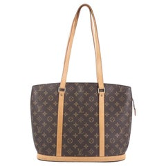 Louis Vuitton Babylone Handbag Monogram Canvas