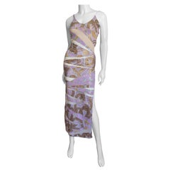 Julien Macdonald Bodycon Beads and Nude Panels Gown