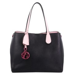 Christian Dior Addict Shopping Tote Leather Small