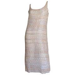 1970s Halston Beaded Dress - Book Piece