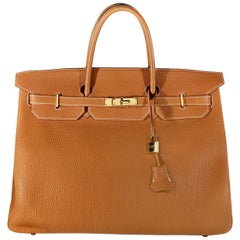 Hermès Gold Togo 40 cm Birkin with Gold Hardware